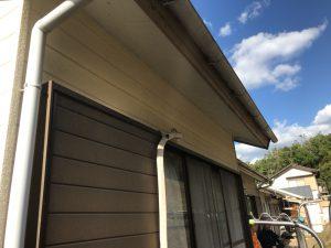 洗濯物用のテラス屋根をつける岡崎市のお家