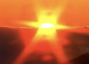 幸田町でエクステリアやガーデンをつくるサンホームズからの太陽