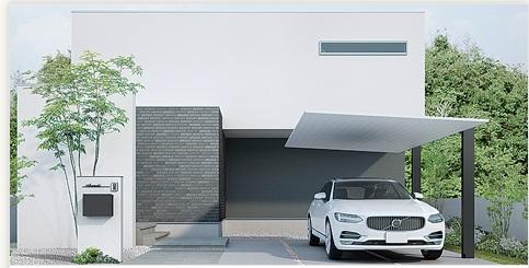 岡崎市・幸田町で外構・エクステリア・庭の設計施工を手掛けるサンホームズが提案するスタイリッシュなカーポート