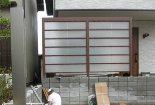 LIXILのプラスG、Gスクリーン|岡崎市・幸田町でエクステリア・お庭などの外構工事をてがけるサンホームズ