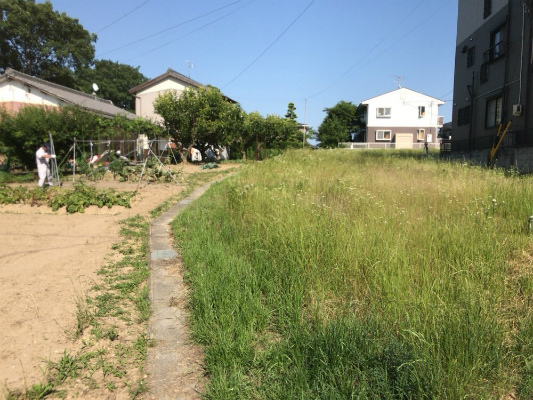 岡崎市・幸田町で外構・エクステリア・庭の設計施工を手掛けるサンホームズのお客さまの土地